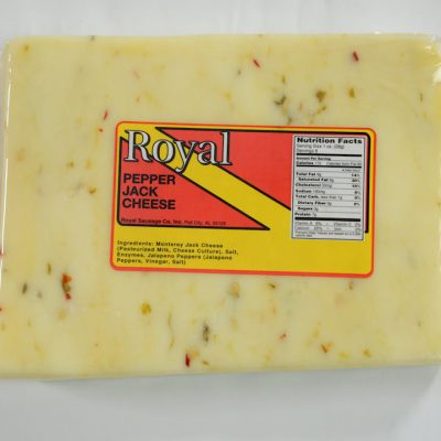 Royal Longhorn Style Colby Cheese | Royal Quality Meats